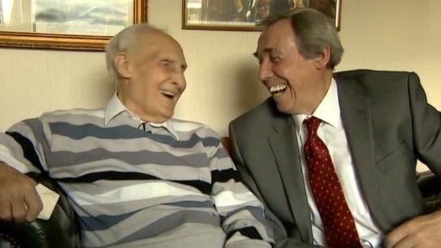 Bert Williams and Gordon Banks