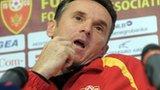 Montenegro coach Branko Brnovic