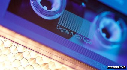 DAT - digital audio tape