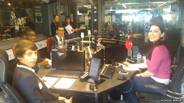 School Reporters on Radio 5 Live