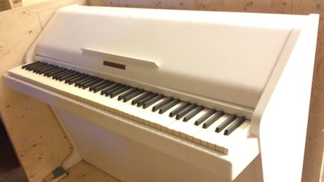 Benny Andersson's old piano
