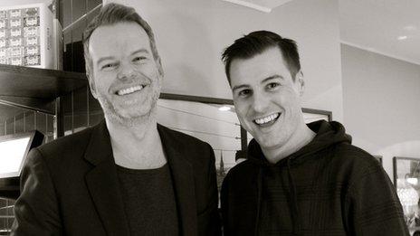 Micke Bayart and Karl Batterbee