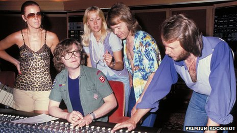 Abba at Polar Music Studio