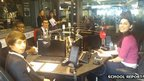School Reporters on Radio 5 Live