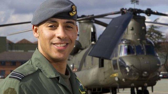 Flt Lt Christopher Gordon