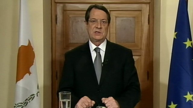 Cyprus banks closed until Thursday