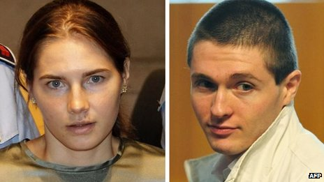 Amanda Knox and Raffaele Sollecito, June 2011