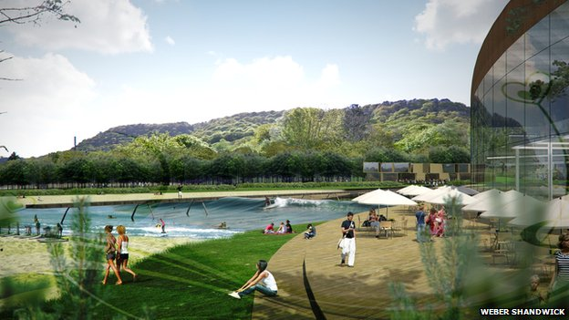 Surf Snowdonia! Wave Garden Technology Creates Perfect Barrels, Wave Consistency