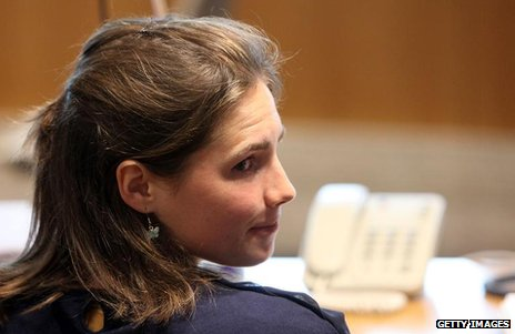 Amanda Knox in court in Perugia, Italy, 27 June 2011