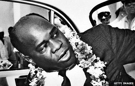 Mozambican rebel leader Eduardo Mondlane