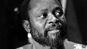 Late Mozambican president Samora Machel