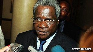 Renamo leader Afonso Dhaklama