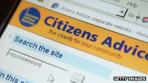 Citizens Advice Bureau website