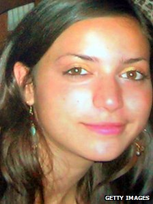 Meredith Kercher (undated photo released by Italian police)