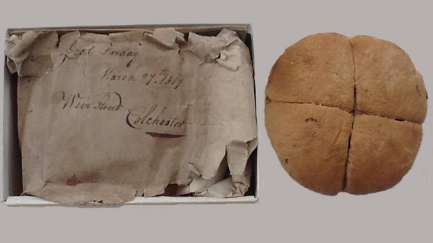 Hot cross bun said to be from 1807