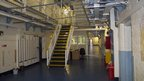 Prison wing inside HMP Shrewsbury