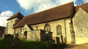 St Bartholomew's Church, Winchester