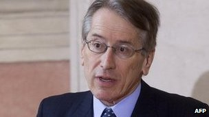 File photo of Giulio Terzi (28 March 2013)