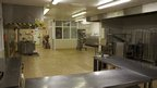 Prison kitchen at HMP Shrewsbury
