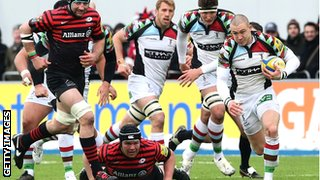 Will Saracens or Harlequins sample Heineken Cup glory this season?
