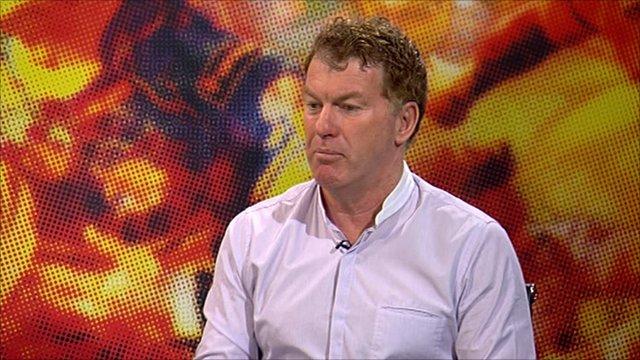 Castleford coach Ian Millward