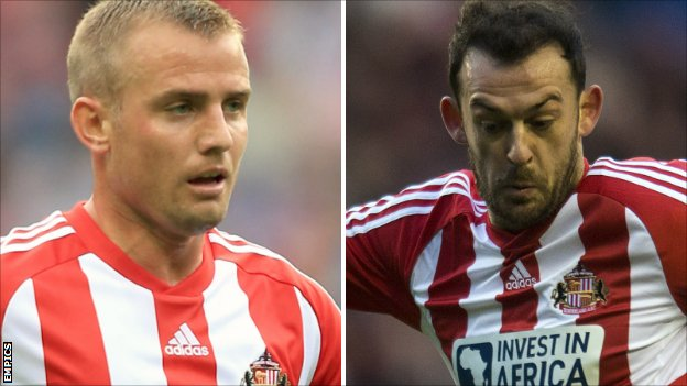 Lee Cattermole and Steven Fletcher