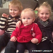 Charles, Jessica and Olivia Langley