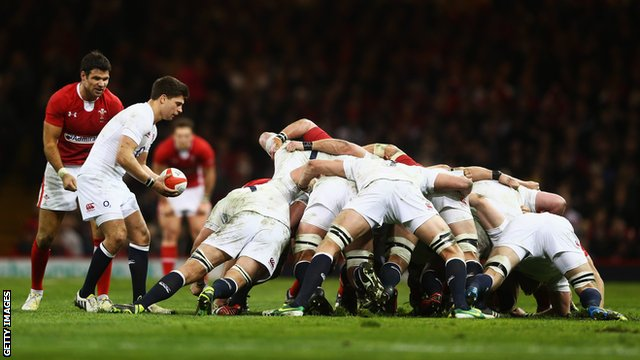 England complained about the refereeing of the scrum against Wales