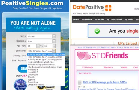Rise in online dating for people with herpes, HPV and other deadly STDs (READ)
