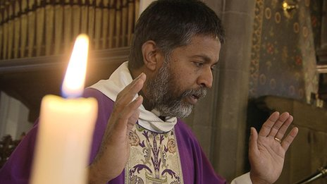Reverend Isaac Poobalan grew up in Southern India surrounded by Islam