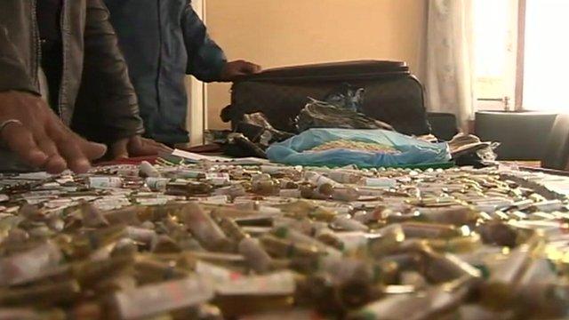 Nepal drugs seizure
