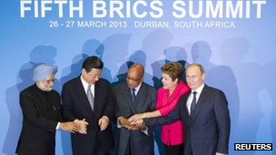 "Chinese media feel BRICS nations can help in creation of a ""more equal international order"""