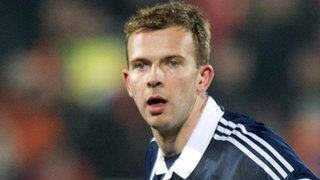 Scotland striker Jordan Rhodes