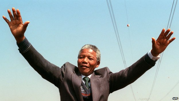 Nelson Mandela BBC News Obituary