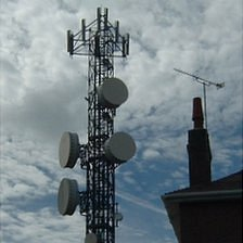 Phone mast in Guernsey