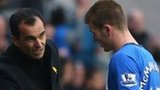 Roberto Martinez and Callum McManaman