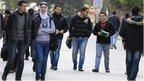 Mortars hit Damascus University