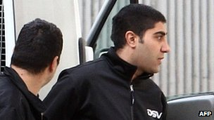Hossam Taleb Yaccoub (right). File photo.