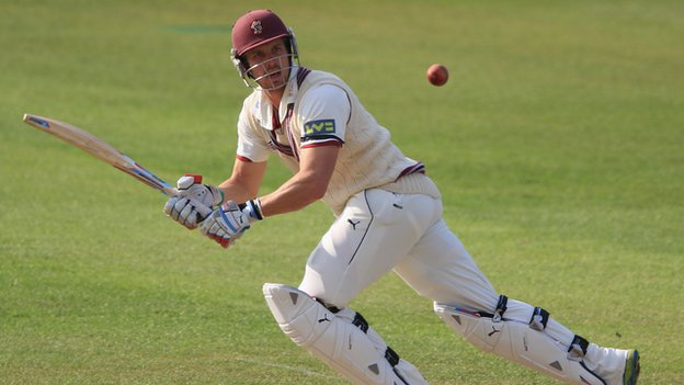 Somerset batsman Nick Compton