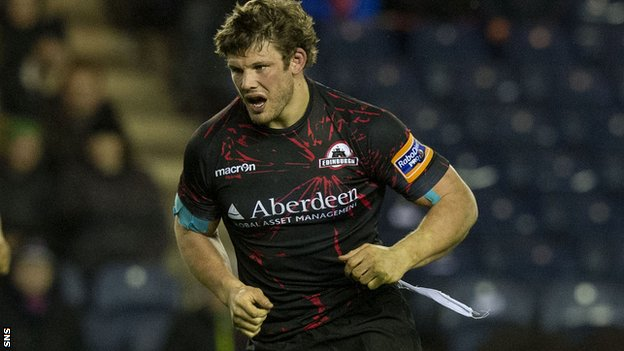 Edinburgh hooker Ross Ford