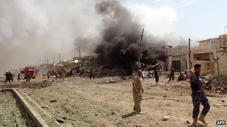 Car bomb attack in Kirkuk on 29 March 2013