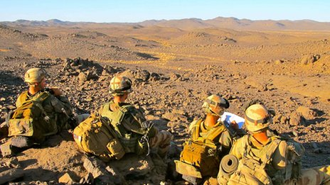French Foreign Legion in Mali
