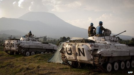 UN troops in DR Congo (file photo)