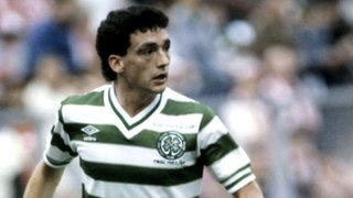 Celtic midfielder Paul McStay