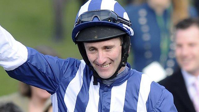 Amateur jockey JT McNamara