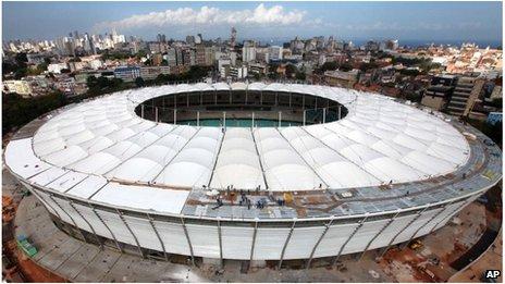 Arena Fonte Nova stadium, Brazil