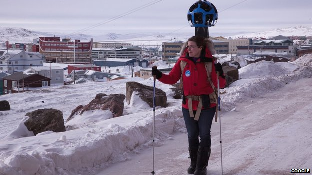 Google arctic