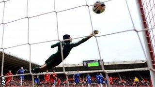 Lambert scores for Southampton