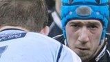 Justin Tipuric takes on Sam Hobbs