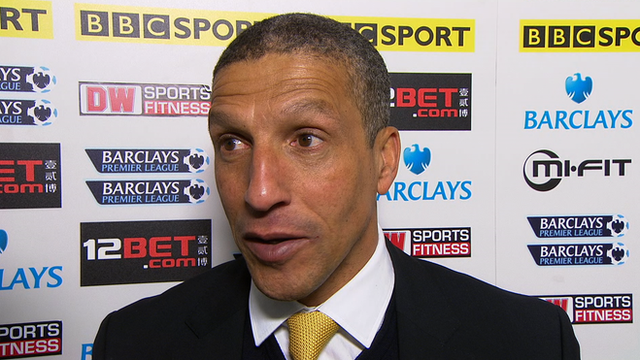 Hughton: We didn't deserve to lose
